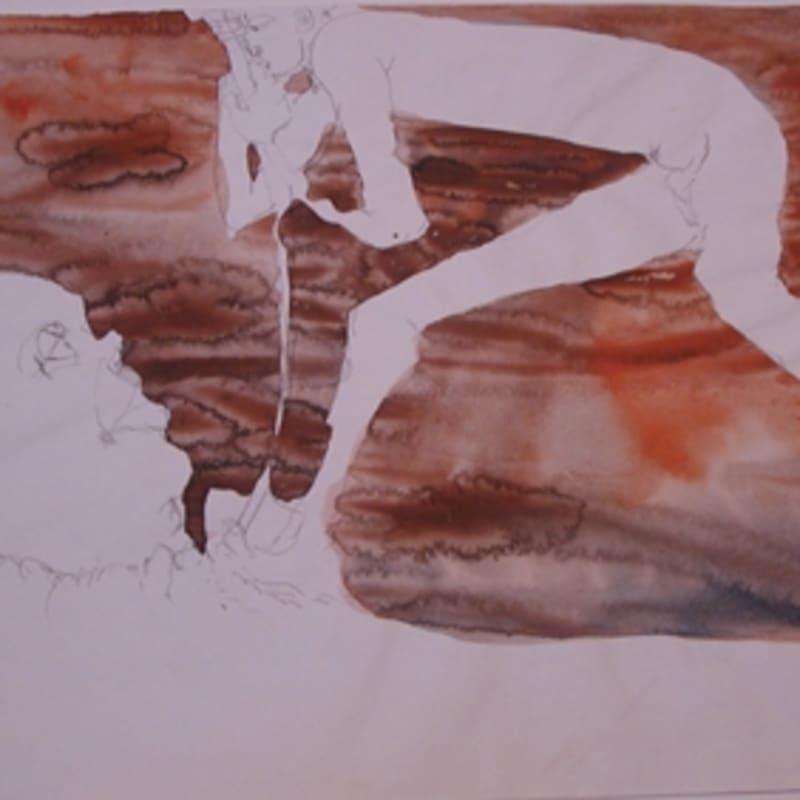 Sébastien Pignon Série des dessins-enveloppes crayon, feutre, aquarelle et encre sur papier 29,7 x 43,4 cm 15 3/4 by 12 1/2 in.