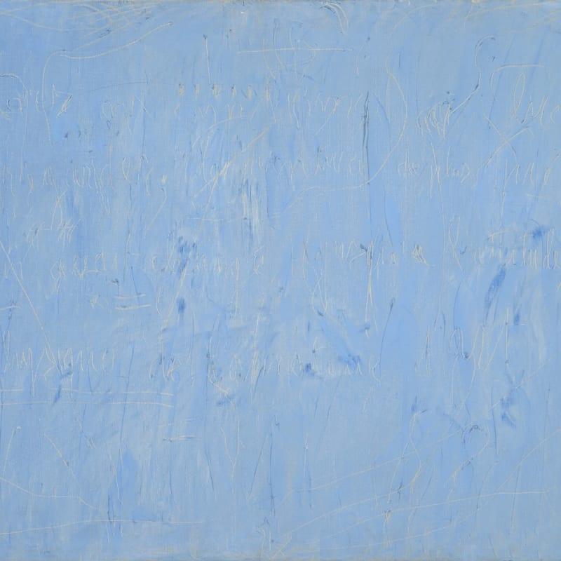 Gil Joseph Wolman Sans titre (On avait changé jusqu'à l'attitude physique de l'amateur d'art) huile sur toile 60 x 81 cm 13 by 9 1/4 in.