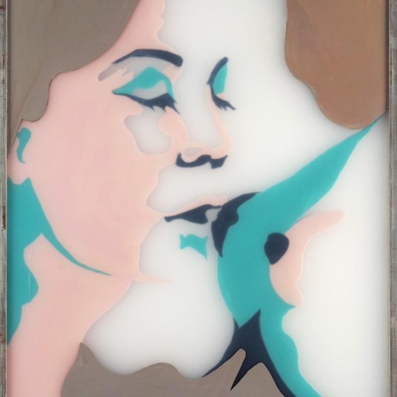 Evelyne Axell Le fruit défendu 1 Email sur polyester 55 x 41 cm