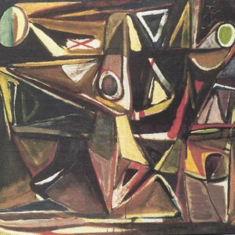 Bram Van Velde Sans titre, Montrouge huile sur toile 130 x 162,5 cm
