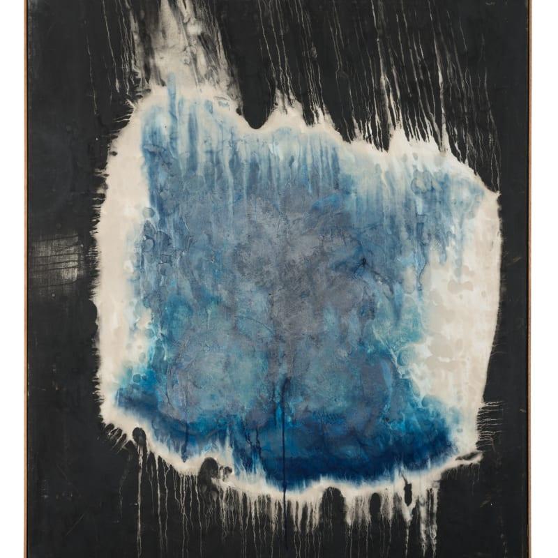Ryuji Tanaka Kei (4) huile et pigment minéral sur toile 162 x 130,5 cm