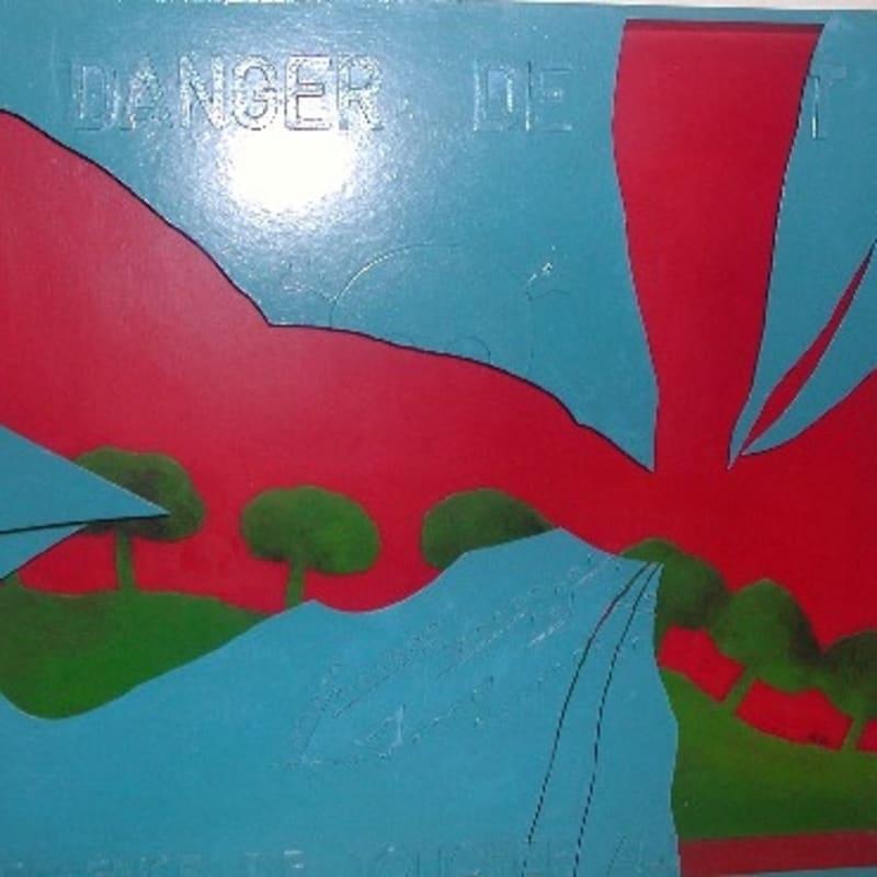 Claude Gilli Danger de mort Bois peint et découpé 67 x 75 x 7,5 cm 26 3/8 by 29 1/2 by 3 in.