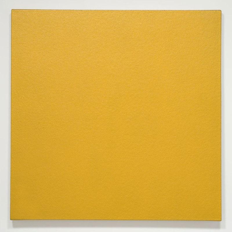 Olivier Mosset Sans titre polyuréthane sur toile 122 x 122 cm