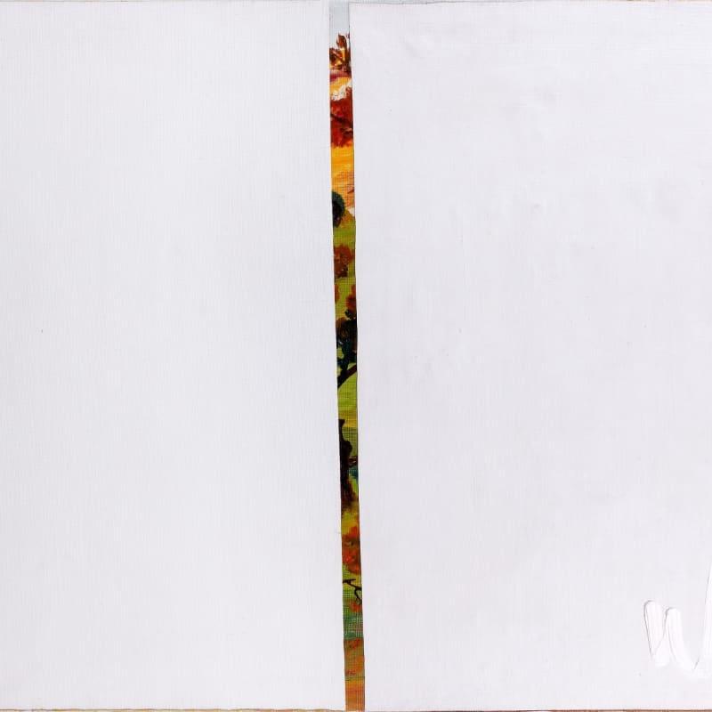 Gil Joseph Wolman Peinture fermée huile sur toile recouverte par deux lés de toile apprêtée blanche marouflée 54 x 73 cm
