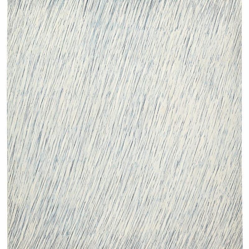 Park Seo-Bo Ecriture No. 27-73 crayon et huile sur toile 100 x 80 cm