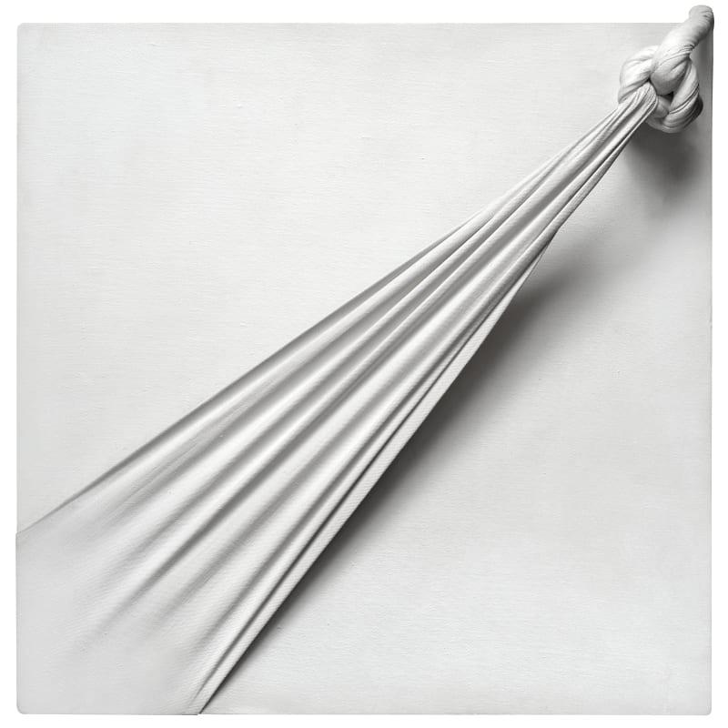 Jorge Eduardo Eielson Quipus 3-1 45 x 45 cm 17 3/4 x 17 3/4