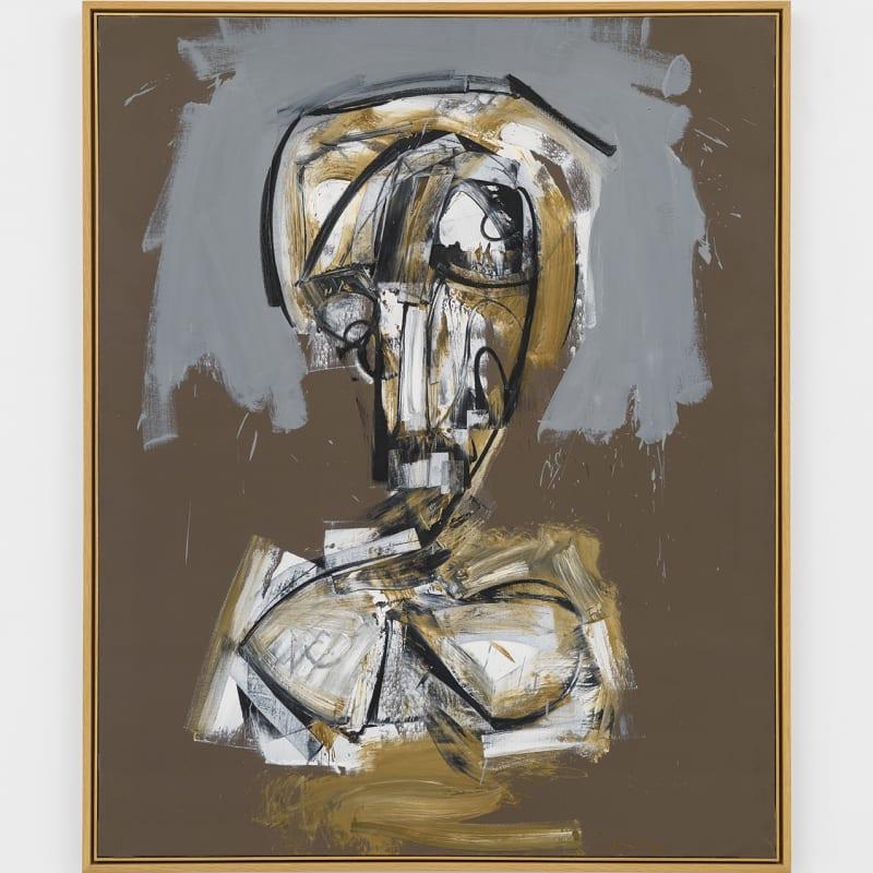 Antonio Saura Saba Huile sur toile 162 x 130 cm