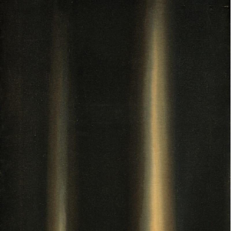 Hyong-Keun Yun Umber-Blue 60,6 x 45,5 cm