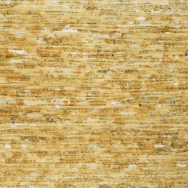 Gil Joseph Wolman Vivre et mourir art scotch sur toile 54 x 81 cm
