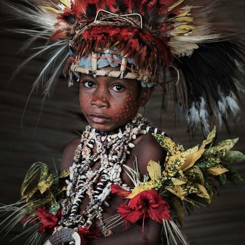 Jimmy Nelson  Tufi, Papua New Guinea, 2017  Archival Print  Image size 60 x 40 cm  Framed size 79 x 67 cm  Edition of 9 plus 2 artist's proofs
