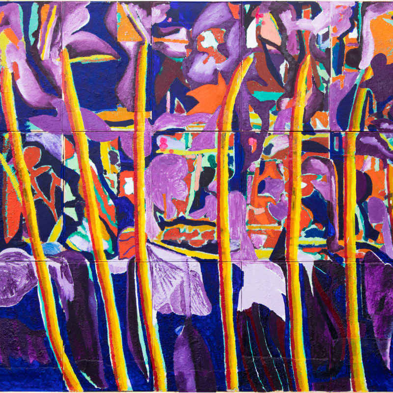 "Francisco Vidal, MY FAVORITE THINGS I ""Purple haze"", 2021"