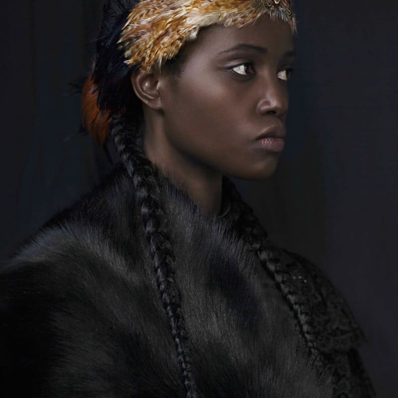 Dagmar Van Weeghel, FOR SARAH - THE AFRICAN PRINCESS - ROYALTY, 2015/2016