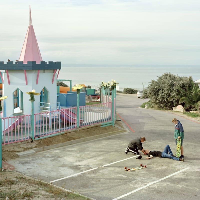 Johno Mellish, The Day that David Goldblatt Died, Dias Beach, Mossel Bay, 2018