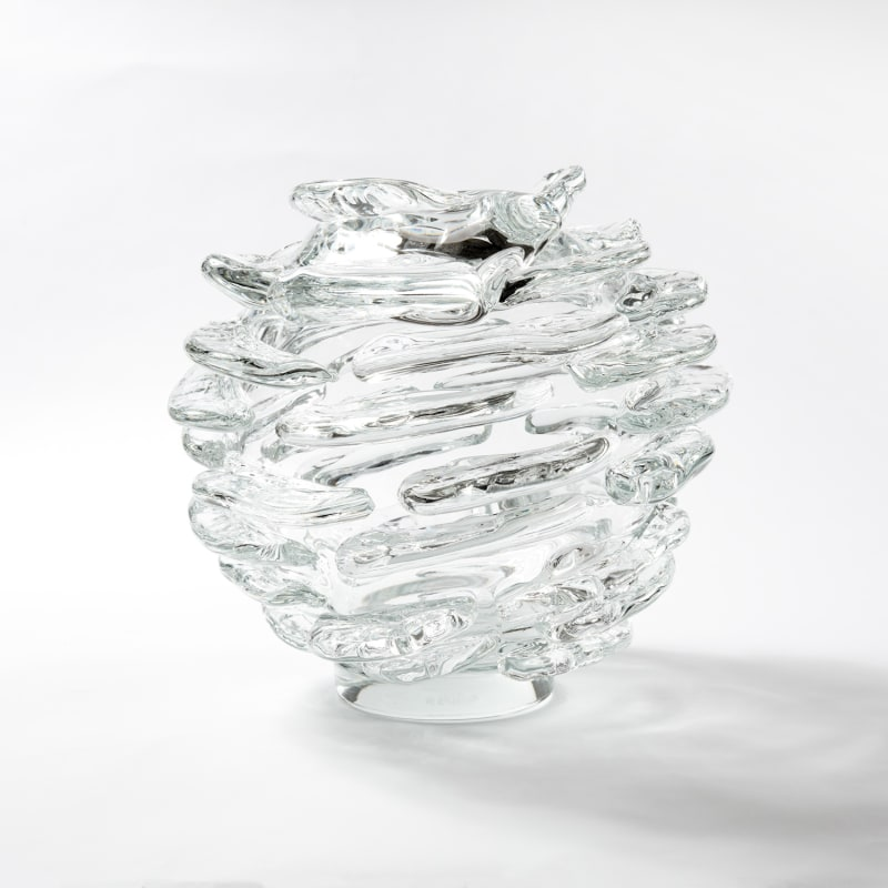 Ritsue Mishima  Frutto di Fuoco, 2019  Glass  38.5 x 41 x 21.3 cm