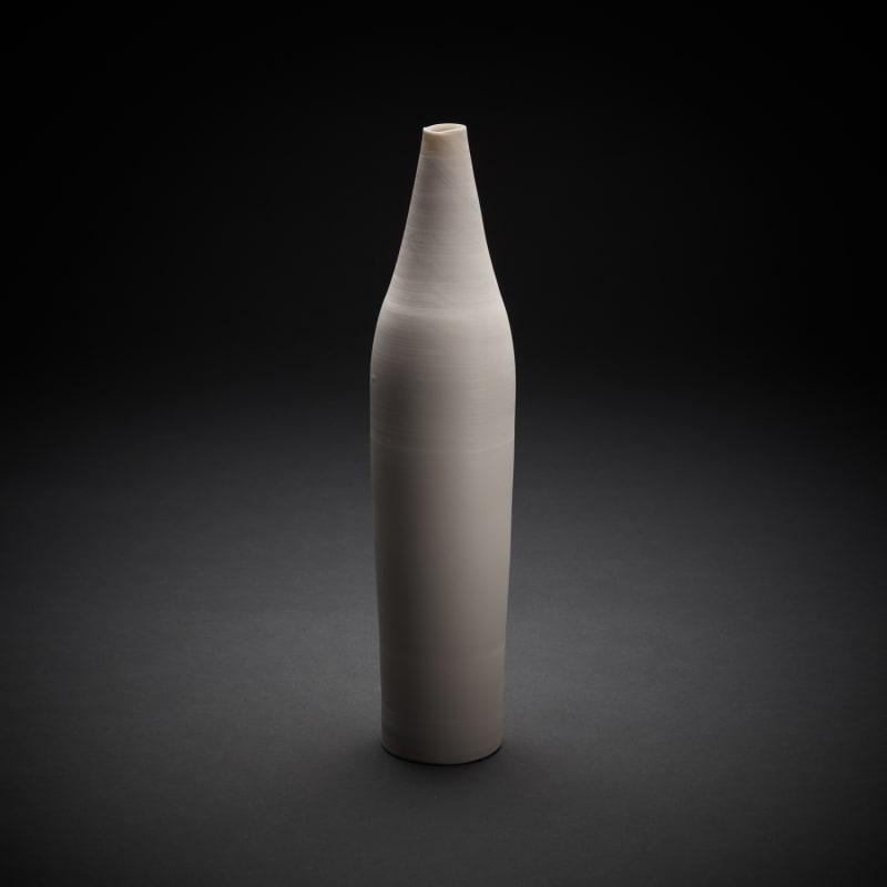 Taizo Kuroda  Untitled 79, 2018  Yakishime Porcelain  28.5 x 6.8 cm