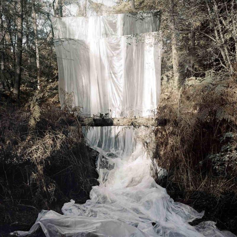 Noémie Goudal  Cascade, 2009  C-print  111 x 140 cm  Edition of 7 plus 2 APs