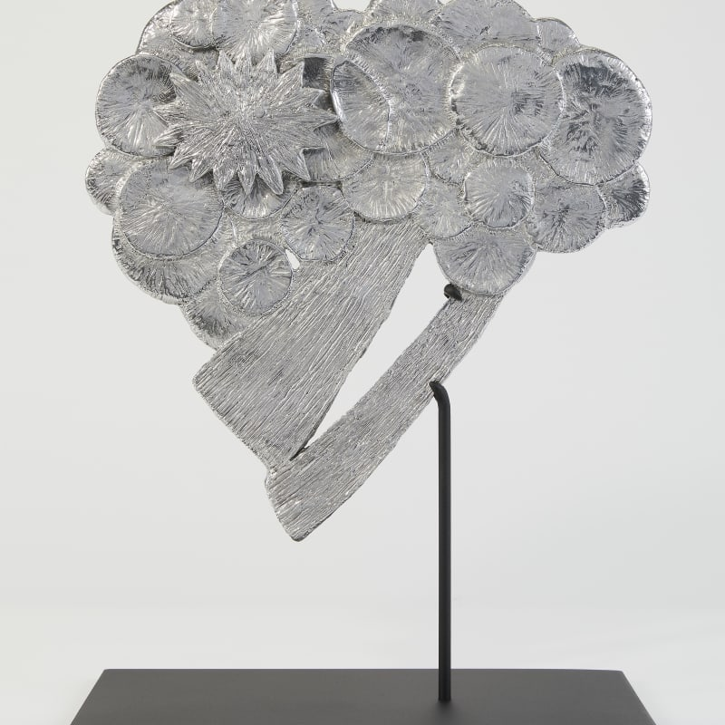 Kiki Smith  Cloudburst, 2017  Aluminium  27.9 x 28.5 x 28.5 cm  Edition 6  Edition of 13 + 2 APs