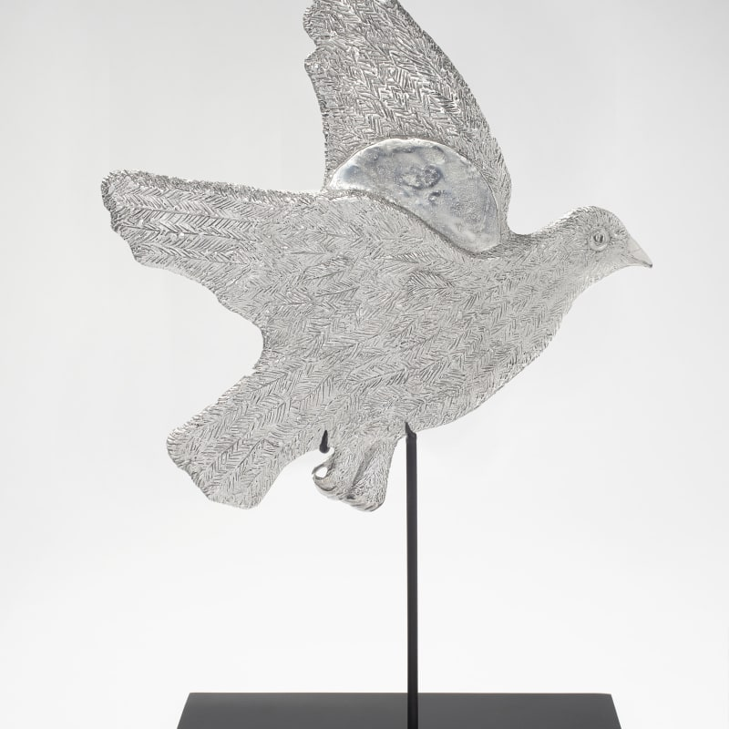 Kiki Smith  Sunrise, Sunset, 2016  Aluminium  33 x 32.3 x 0.8 cm  Edition 8  Edition of 13 + 1 AP