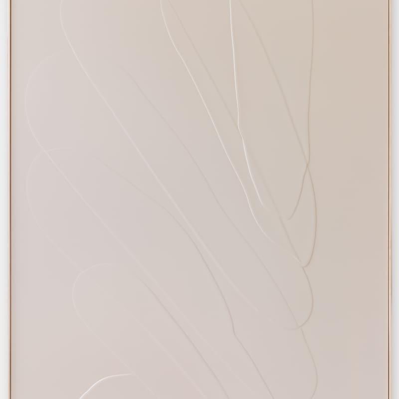 Carla Cascales Alimbau  Mediterranean waves II, 2021  Organic resin on linen  162 x 114 cm, 16Kg