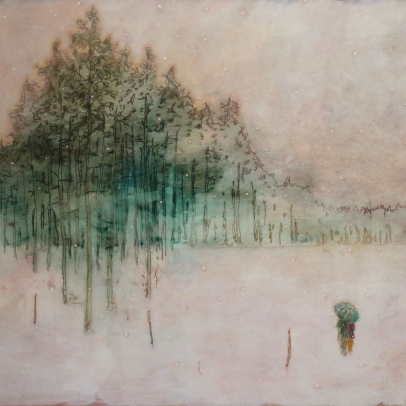 Daniel Ablitt, Winter Walk (treeline), 2019