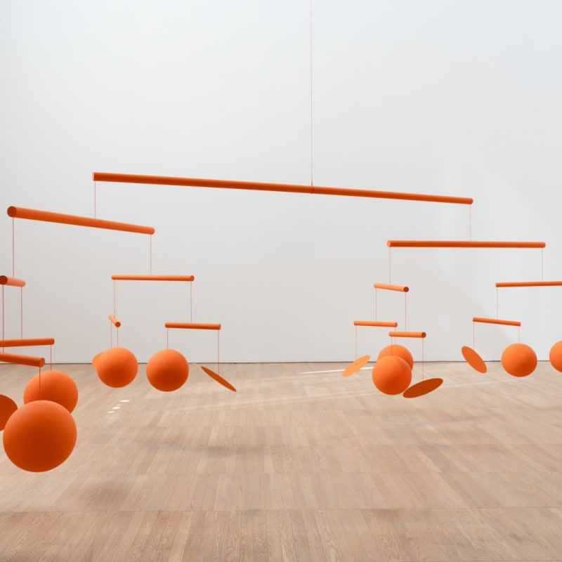 Xavier Veilhan Installation view at Aranya Art Center, Quinhuangdo,China. Courtesy Mengqi Bao, 2021