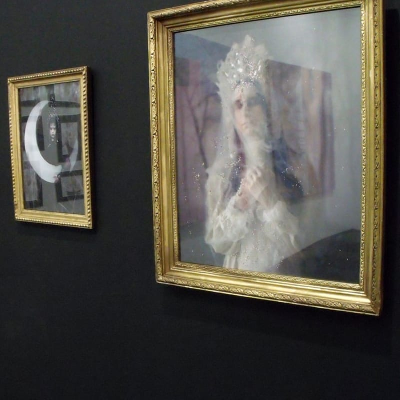 """Uldus. From the seria """"Russian fairytales"""" at the gallery's stand"""