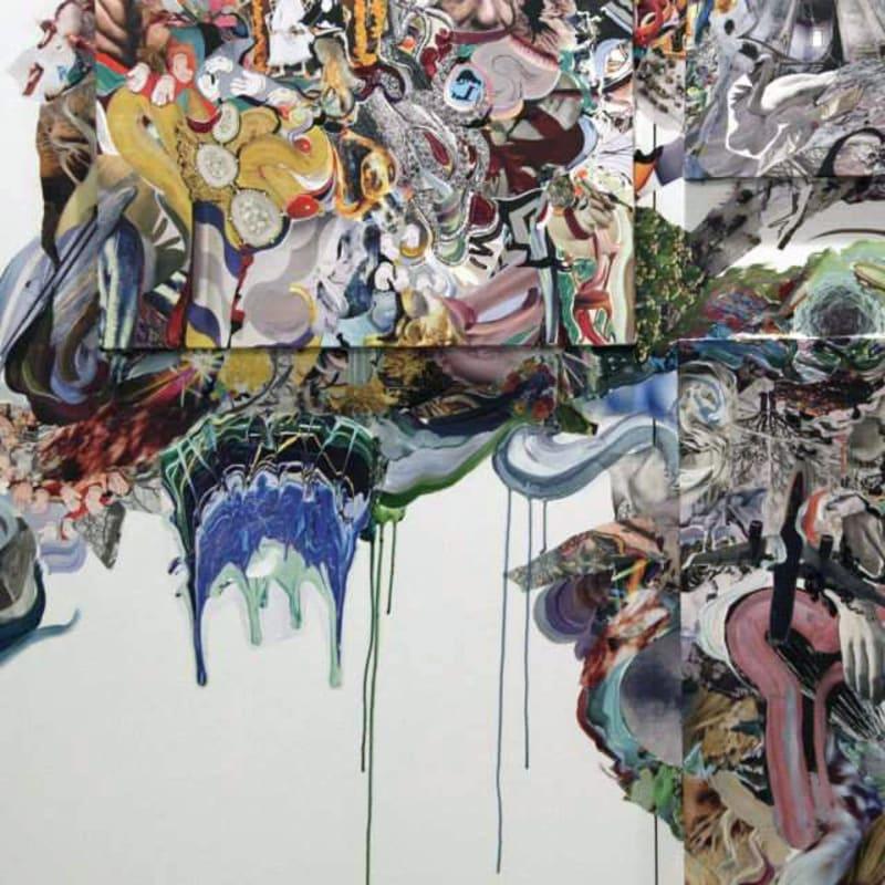 Marya Dmitrieva.Anna Nova's booth at Contemporary Istanbul 2013