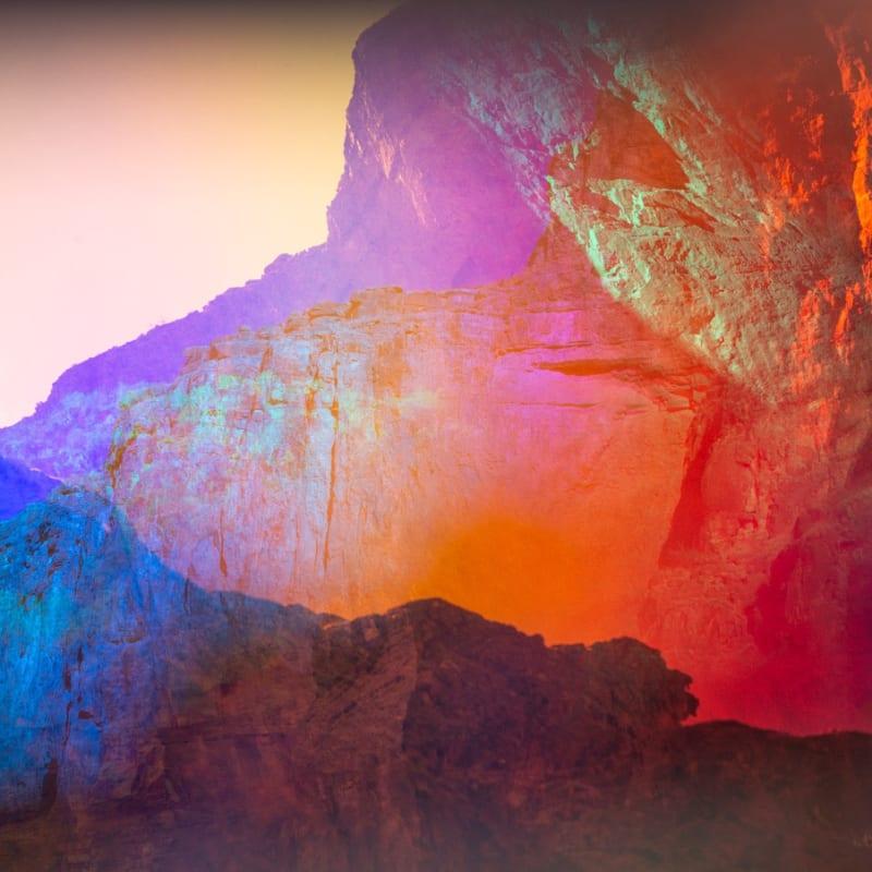 Terri Loewenthal, Aztec Amphitheater, 2020 Archival Pigment Print