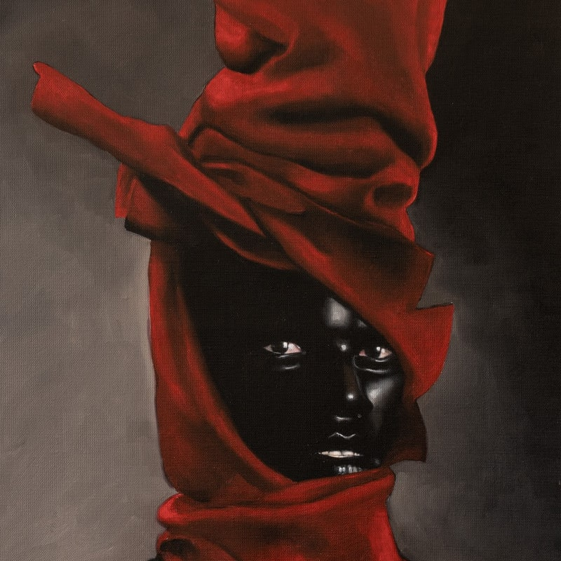Gustavo Nazareno Exu , 2021 Oil on canvas