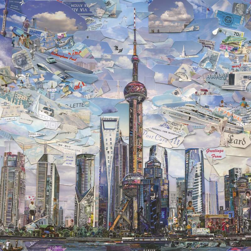 Vik Muniz  Shanghai Postcard (Postcards from Nowhere), 2014