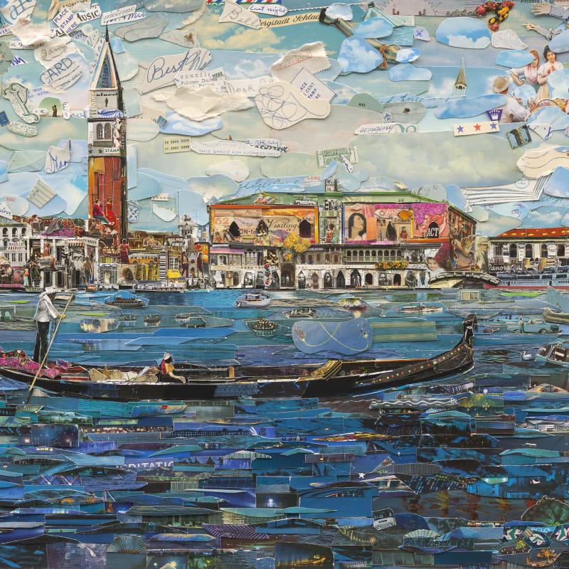Vik Muniz  Venice (Postcards from Nowhere), 2014