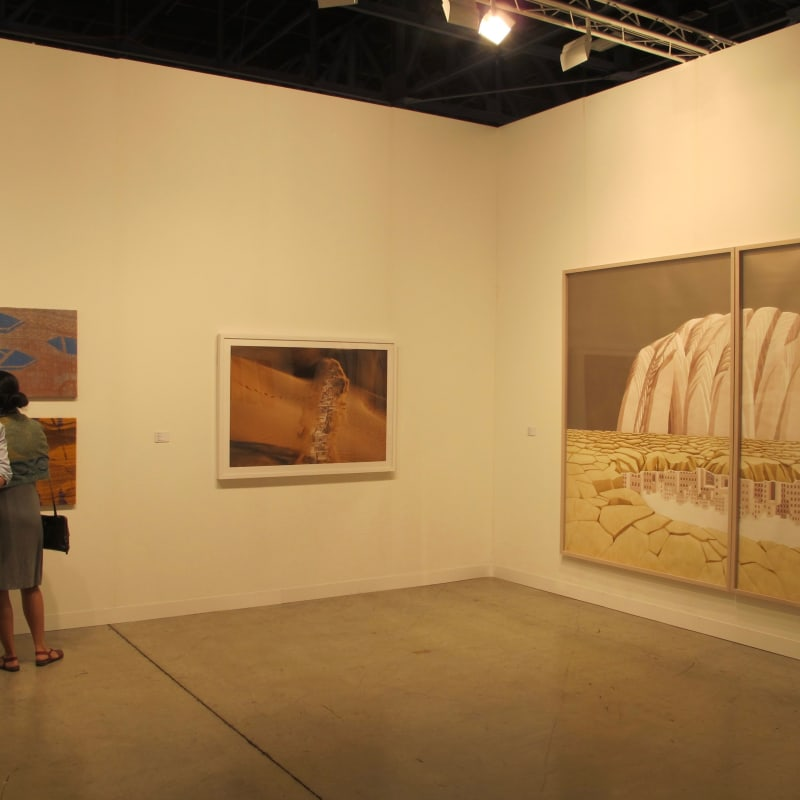 Booth View, Art Basel Miami 2014