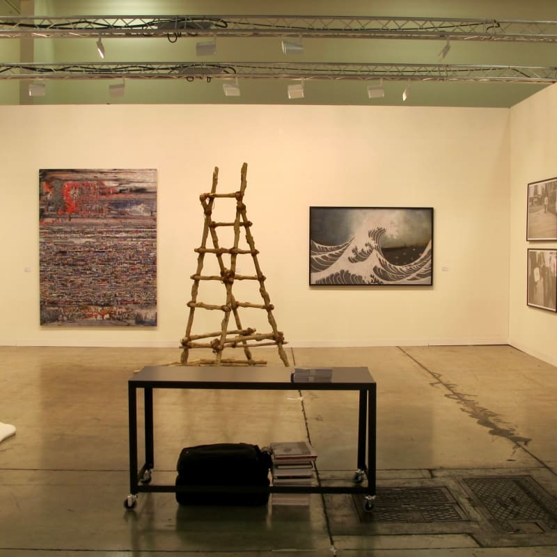 Booth View, Art Basel Miami 2012