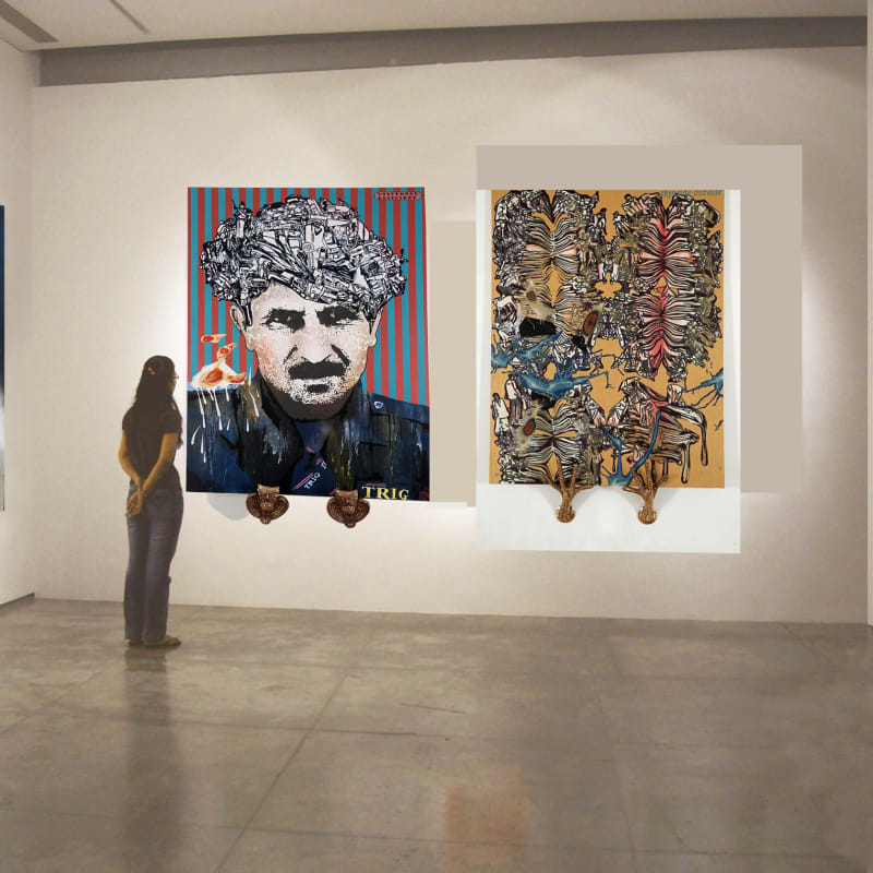Booth View, Art Basel Miami 2010
