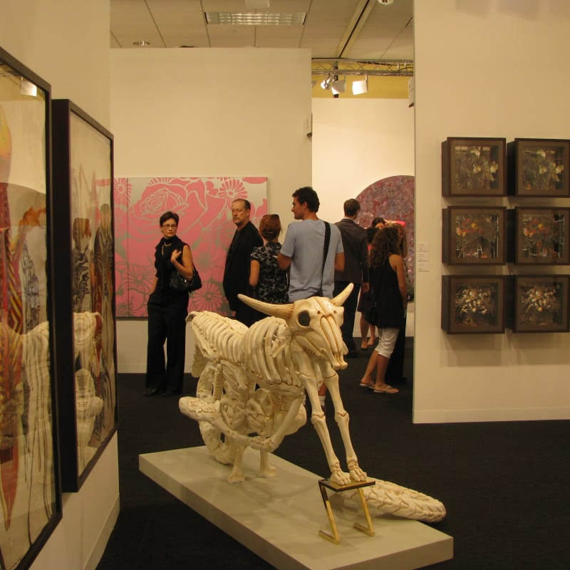 Booth View, Art Basel Miami 2008
