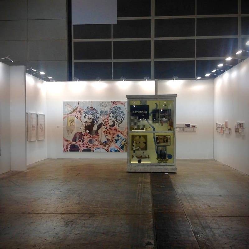 Booth View, Art Basel Hong Kong 2015
