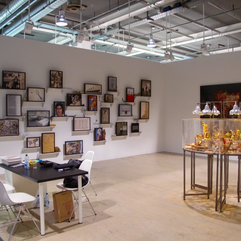Booth View, Art Basel 2014