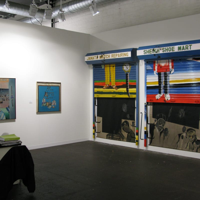 Booth View, Art Basel 2010