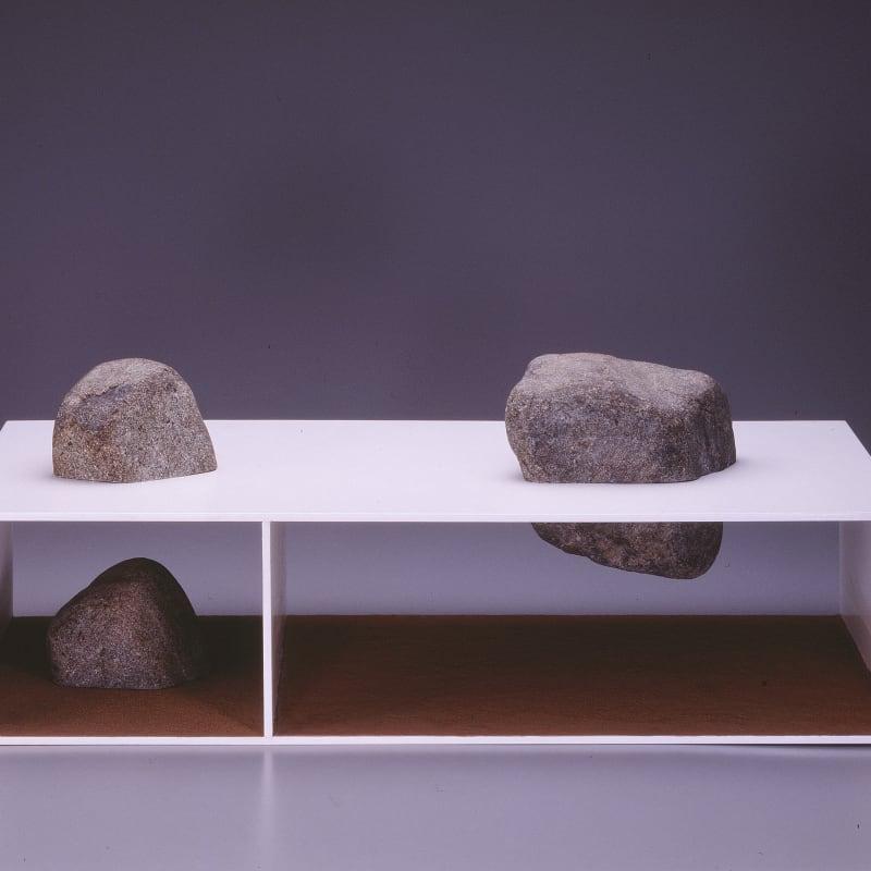 Shoichi Ida S.B.B.V.H-GP -Meaning of Stone Garden- Sinking Garden and Ascending Stone No.45 1988-1998