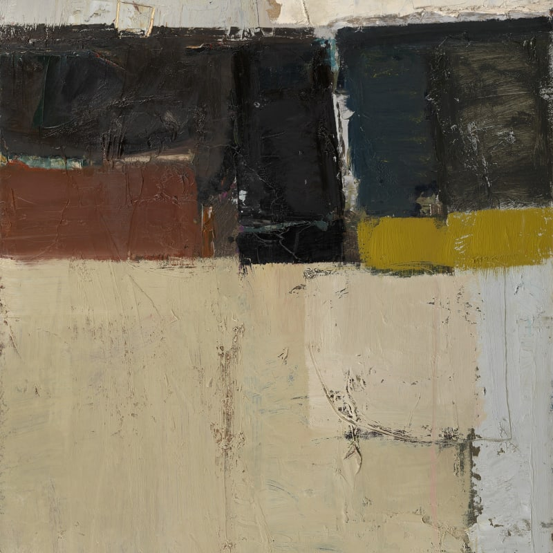"""4. Construction 2014, Oil on board, 30"""" x 20"""""""