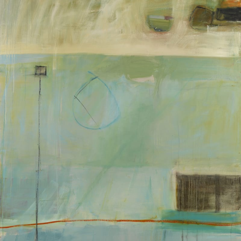 """8. The Sea and the Sand, Oil, 72"""" x 60"""""""