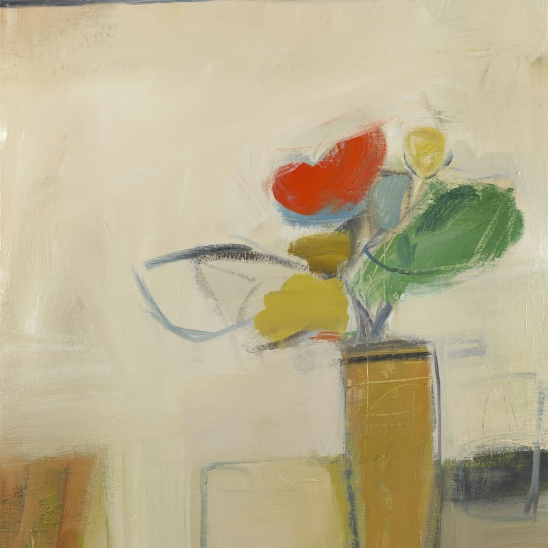 "26. Yellow Pot, Oil, 30"" x 26"""