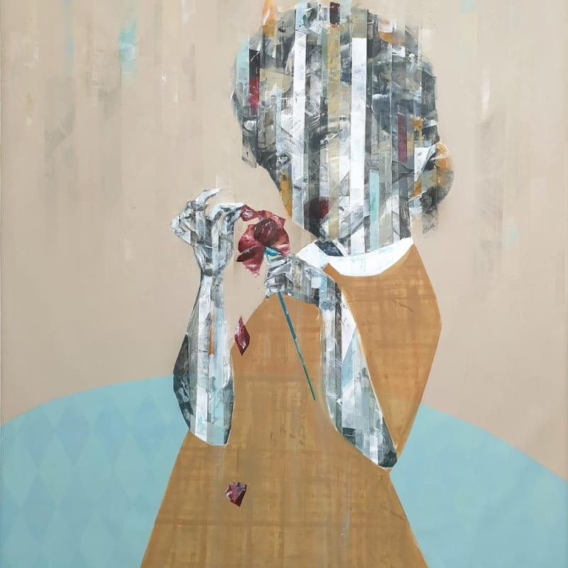 Besher Koushaji, Confusion, 2020, Acrylicon canvas, 140x120cm