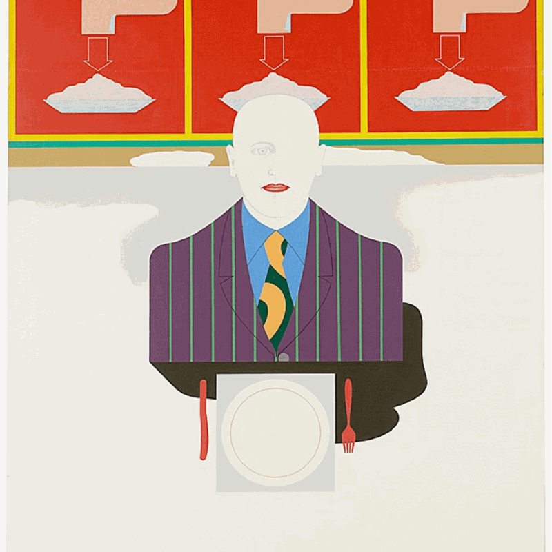 Virgilio Villalba, Alimentation 4, 1978