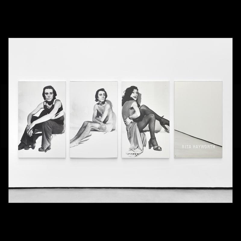 Michel Journiac, Piège pour un travesti : Rita Hayworth, 1972. MJ099.