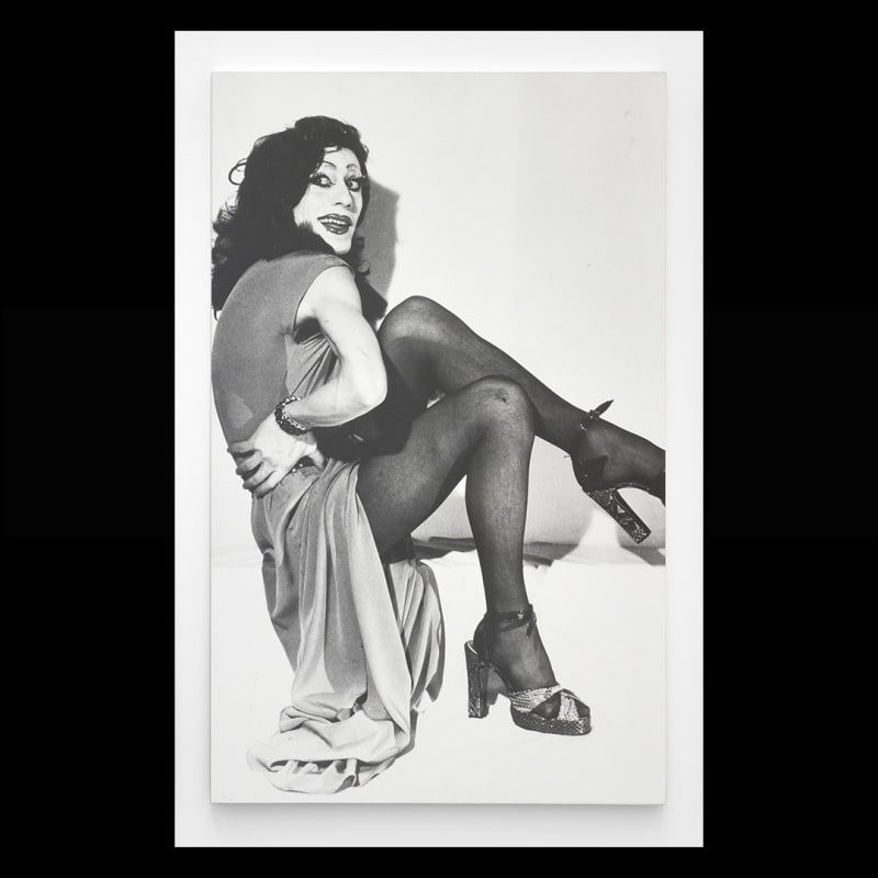Michel Journiac, Piège pour un travesti : Rita Hayworth, 1972. (DETAIL). MJ099.