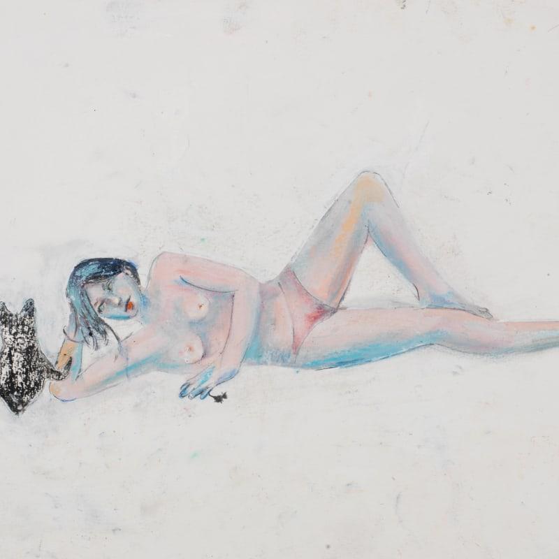 Martial Raysse étude pour Délice un peu tendue 2009