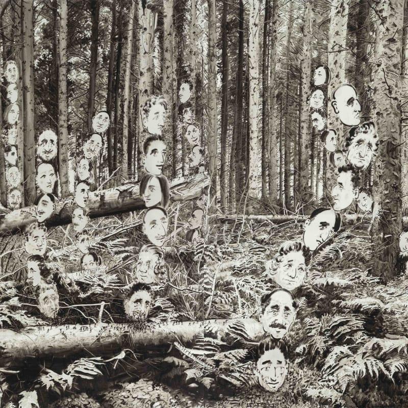 Lu Chao, Black Light No.4, 2016