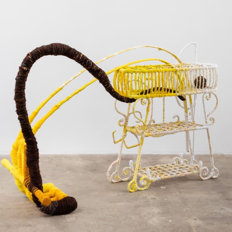 """<span class=""""artist""""><strong>Courtney Puckett</strong></span>, <span class=""""title""""><em>The Digger</em>, 2020</span>"""