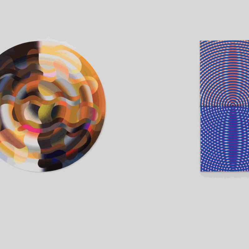 Installation view of Taro Suzuki / Charlotte Hallberg.